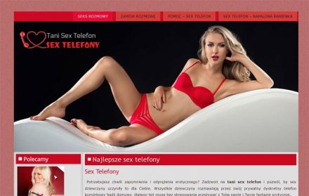 tanie sex telefony